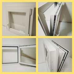 Finestra bianca 60x60